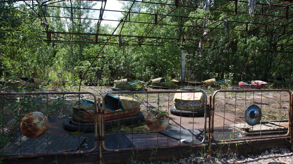 ghost city of Chernoby